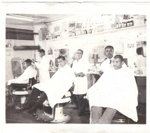 3 Generations of Evans Barbers