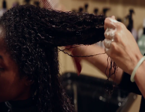 How High Heat Permanently Straightens Hair
