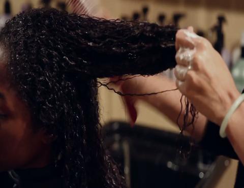 How High Heat Permanently Straightens Hair